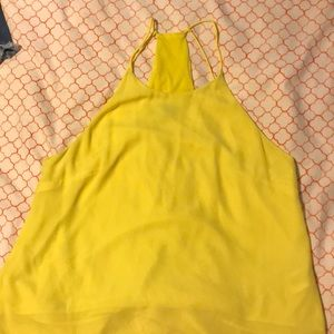 Tops - HM neon yellow size 12 top(runs small size6/8)